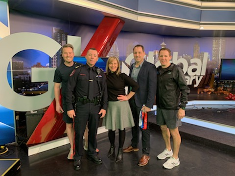 Police Half on Global Morning News